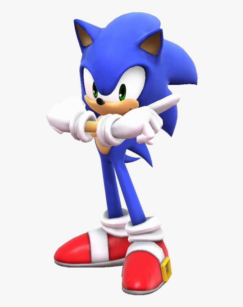 Sonic Adventure Pose Super Smash Bros Mario Pose Png Image Transparent Png Free Download On Seekpng