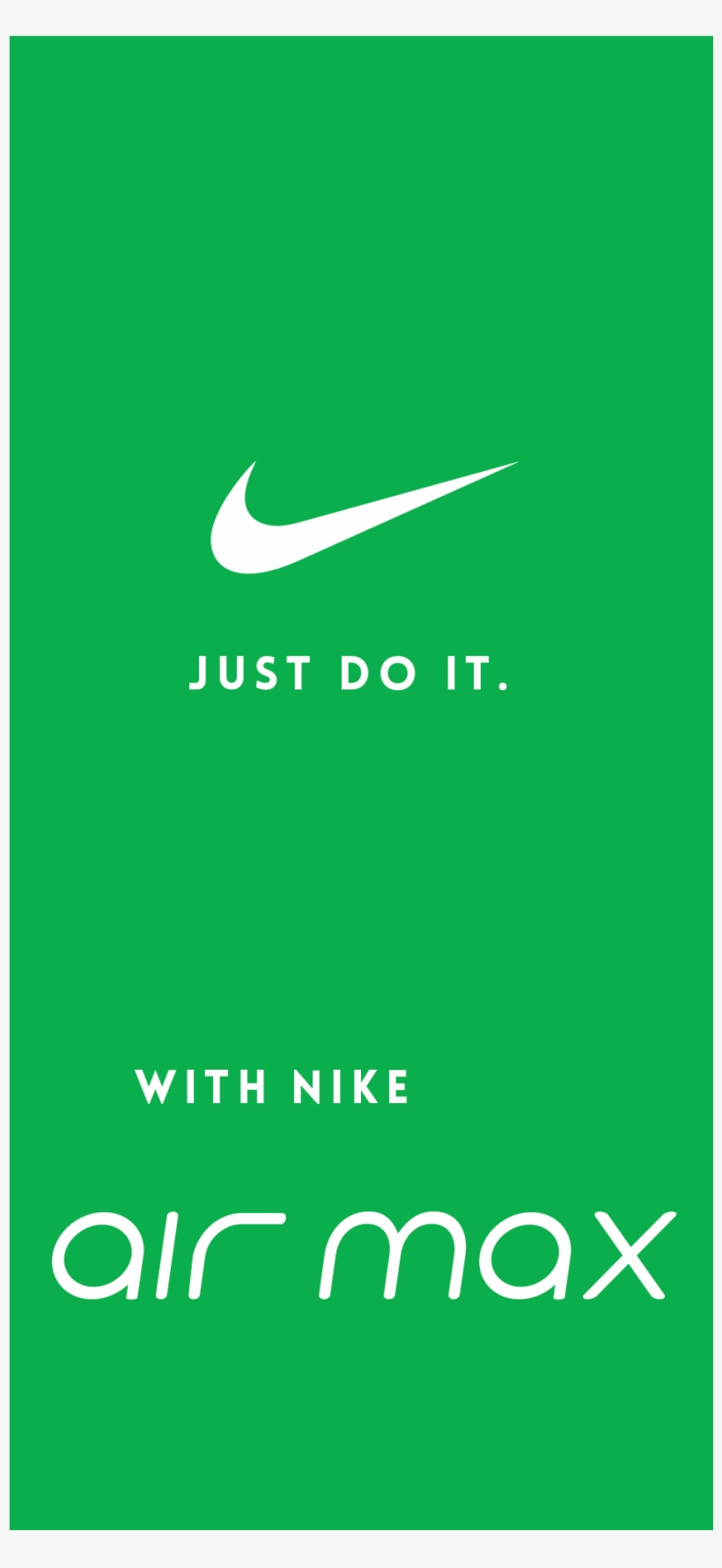 separation shoes c2eed 3a9ac Nike Air Max Ad - Sign, transparent png download