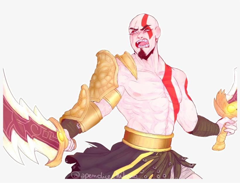 Kratos Dios De La Guerra Dibujo Png Image Transparent Png Free Download On Seekpng