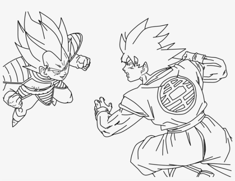 Free Png Download Dragon Ball Z Para Colorir Goku E Goku