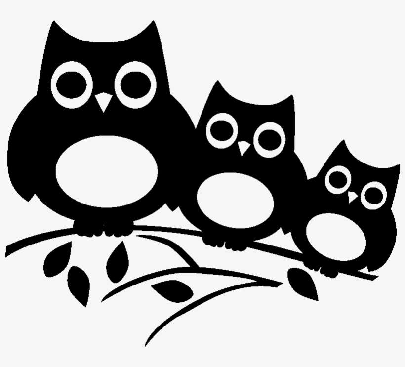 Stickers Muraux Animaux Pochoir Hibou A Imprimer Png Image Transparent Png Free Download On Seekpng