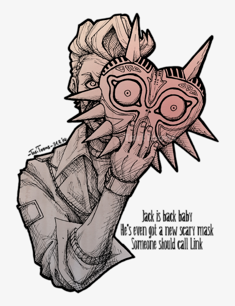 2014 Borderlands Borderlands Handsome Jack Fan Art Png