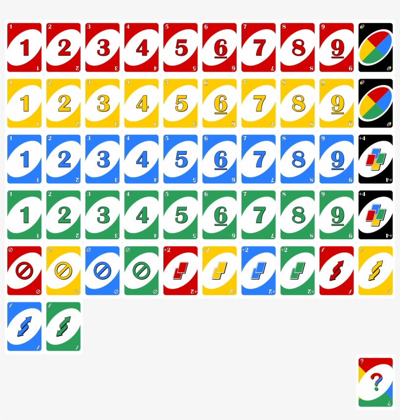 download unofront  uno game cards template  transparent