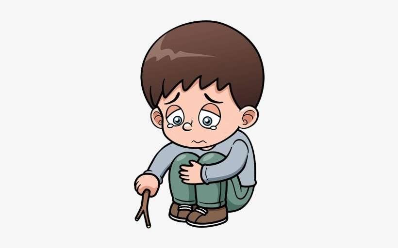 Sad Boy Png - Sad Boy Cartoon PNG Image | Transparent PNG ...