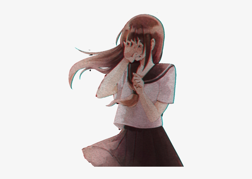 Sad Png Free Download On Mbtskoudsalg Graphic Stock - Cry Sad Anime