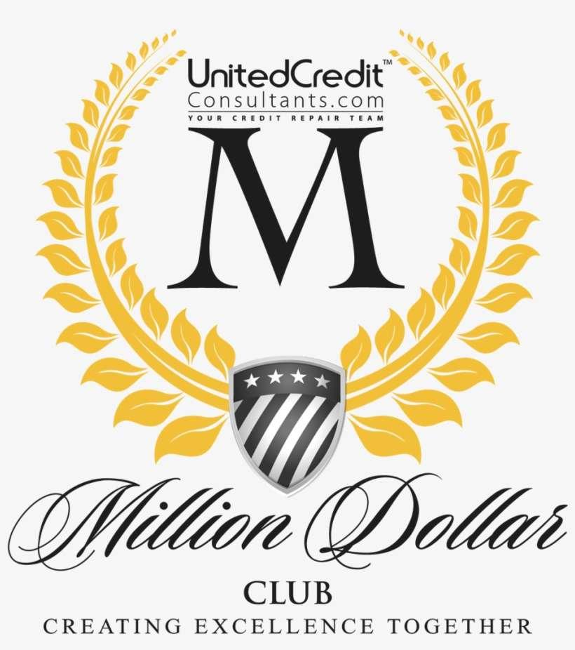 Freshly Made Million Dollar Club Logo Design Million Dollar Club Logo Png Image Transparent Png Free Download On Seekpng