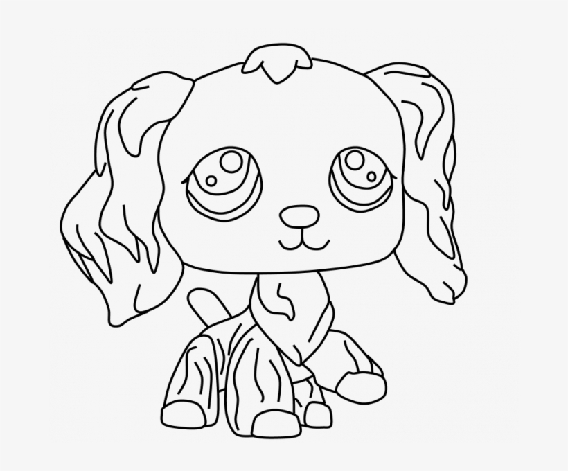 Lps Coloring Pages Pet Shop Coloring Pages Printable Lps Collie Coloring Pages Png Image Transparent Png Free Download On Seekpng