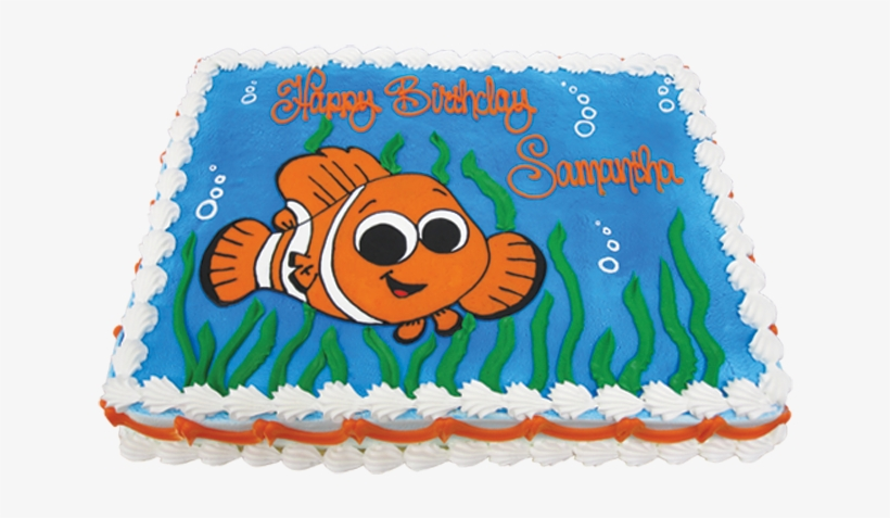 Terrific Clown Fish Birthday Cake Png Image Transparent Png Free Birthday Cards Printable Trancafe Filternl