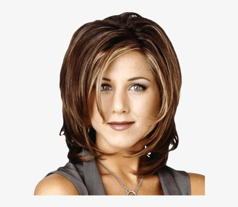 Short Hairstyles With Blonde Highlights Photo Jennifer Anistons