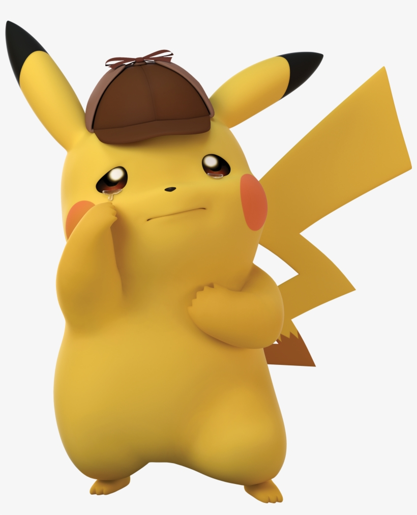 Pika Pain Detective Pikachu Clear Background Png Image