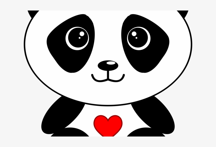 Panda Clipart Panda Head Cute Cartoon Panda Face Png Image Transparent Png Free Download On Seekpng