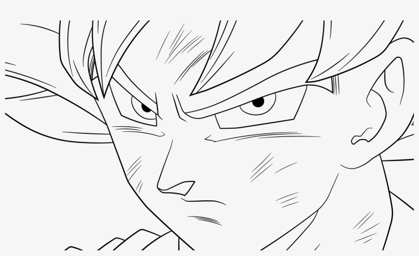 Dragon Ball Coloring Pages Ultra Instincts Png Ultra Goku