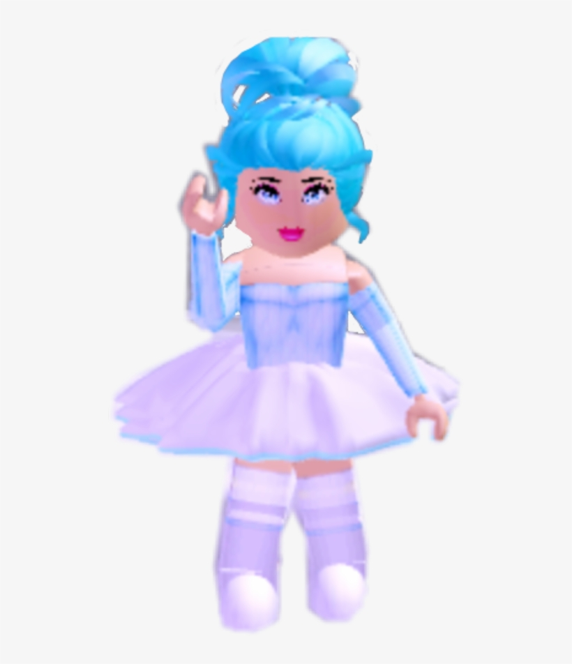 Gfx Roblox Hi Stickers Freetoedit - Doll PNG Image | Transparent PNG