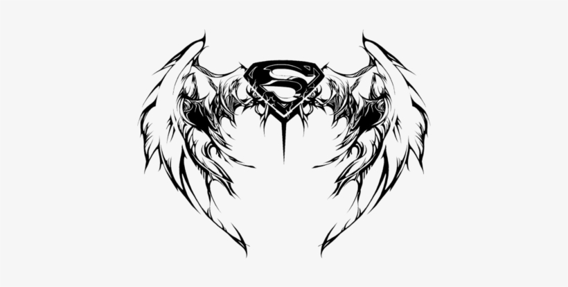 a9cd996c30512 Image - Superman Logo With Wings Tattoo PNG Image | Transparent PNG ...
