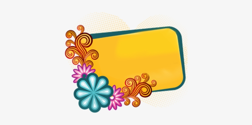 Colorful Page Borders Free - Colorful Design Border Png PNG
