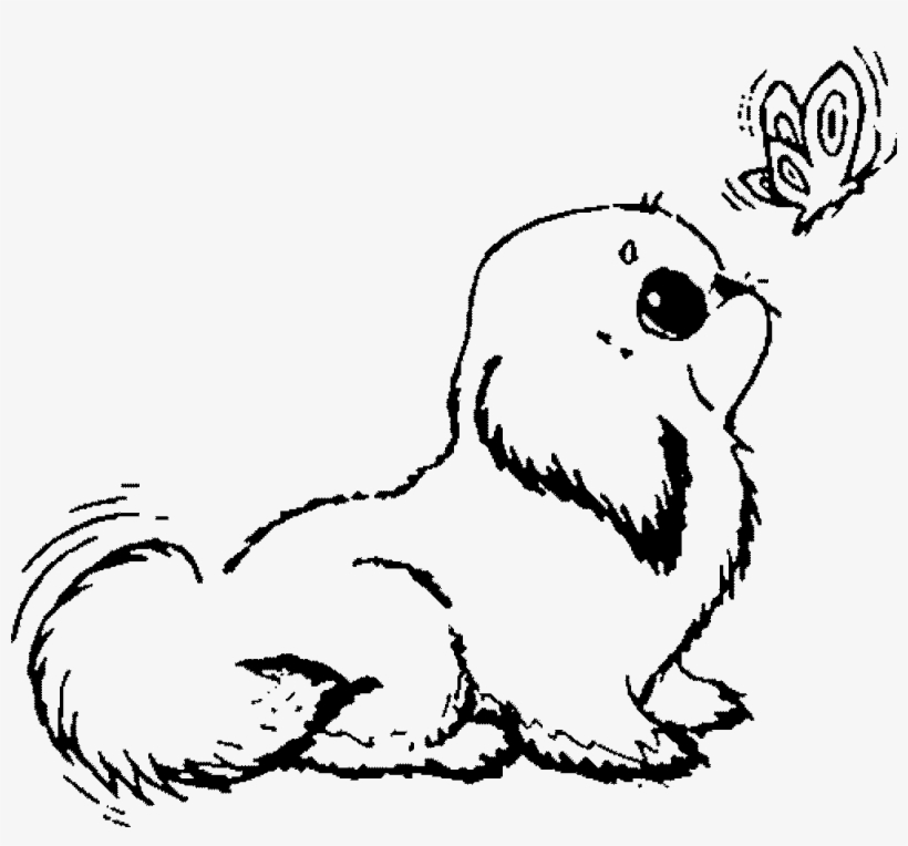 44 Top Coloring Pages Of Cute Puppies , Free HD Download