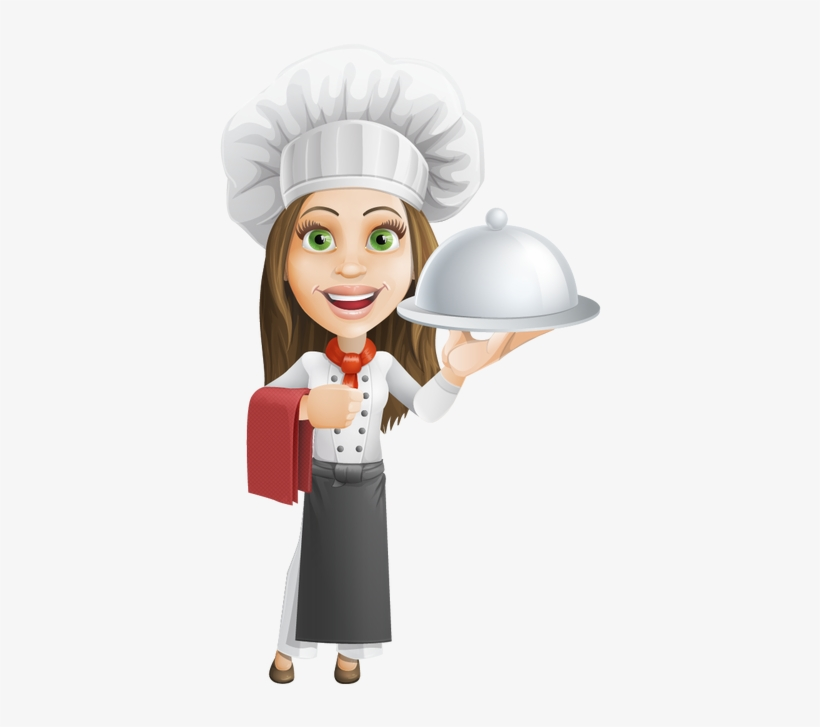 Png Download Cook Drawing Female Chef Chef Woman Cartoon Png Png Image Transparent Png Free Download On Seekpng