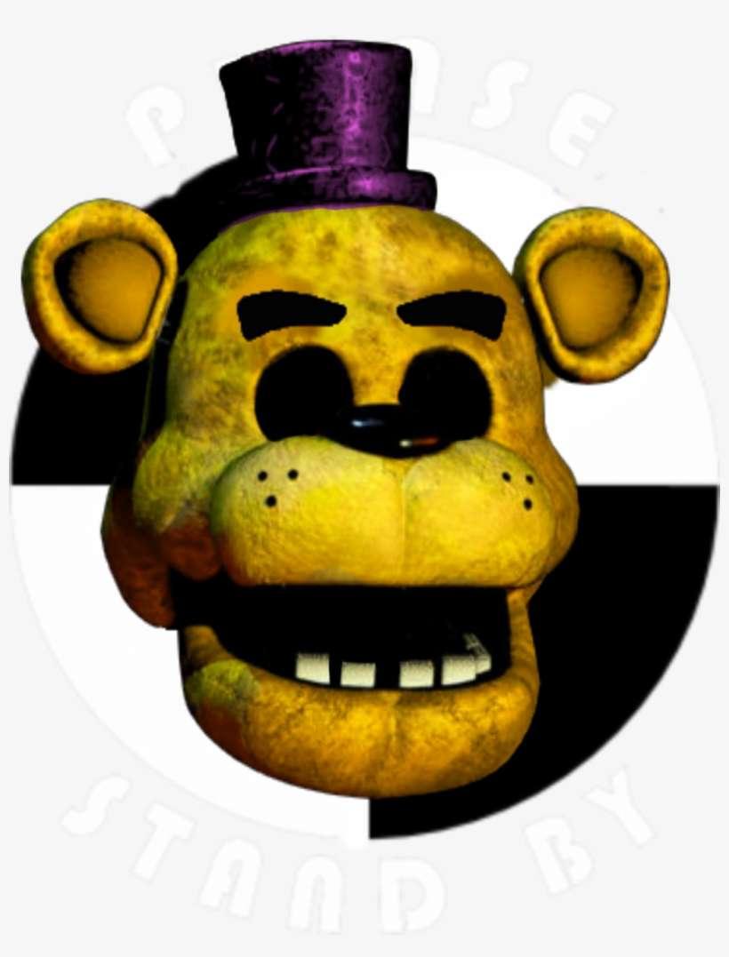Fredbear Pls Stand By But Fredbear Head Is More Real - Fnaf