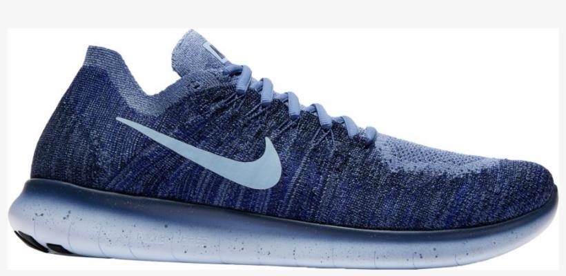 755903aa671d3 Nike Men s Free Rn Flyknit 2017 Running Shoes - Nike Free Rn Flyknit Blue  Navy
