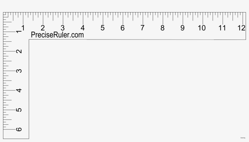 photo relating to Free Printable Ruler referred to as Printable Rulers - Printable Sq. Ruler PNG Graphic
