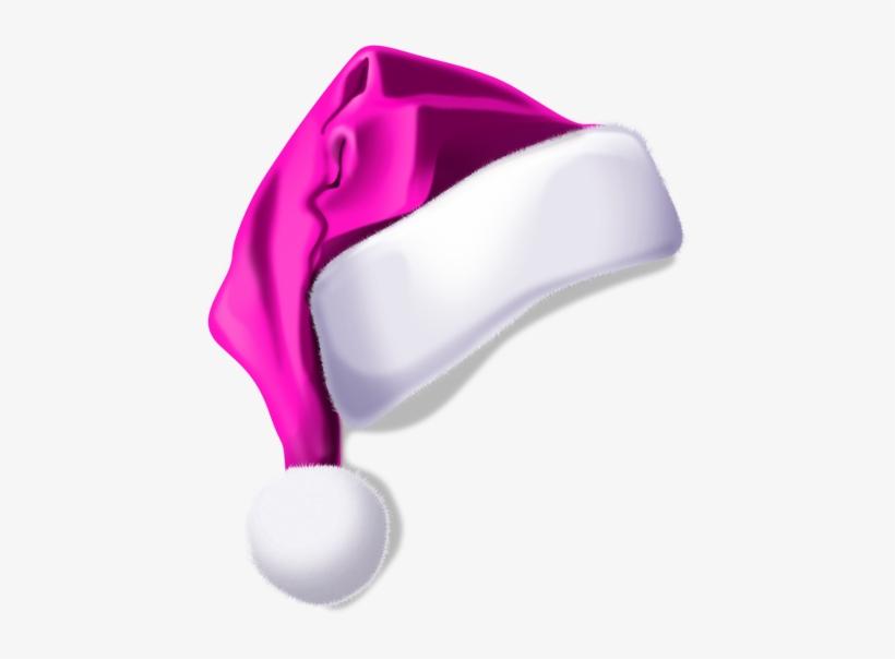 Christmas Hat Clipart Transparent Background.Pink Santa Hat Png Christmas Hat Png Clipart Png Image