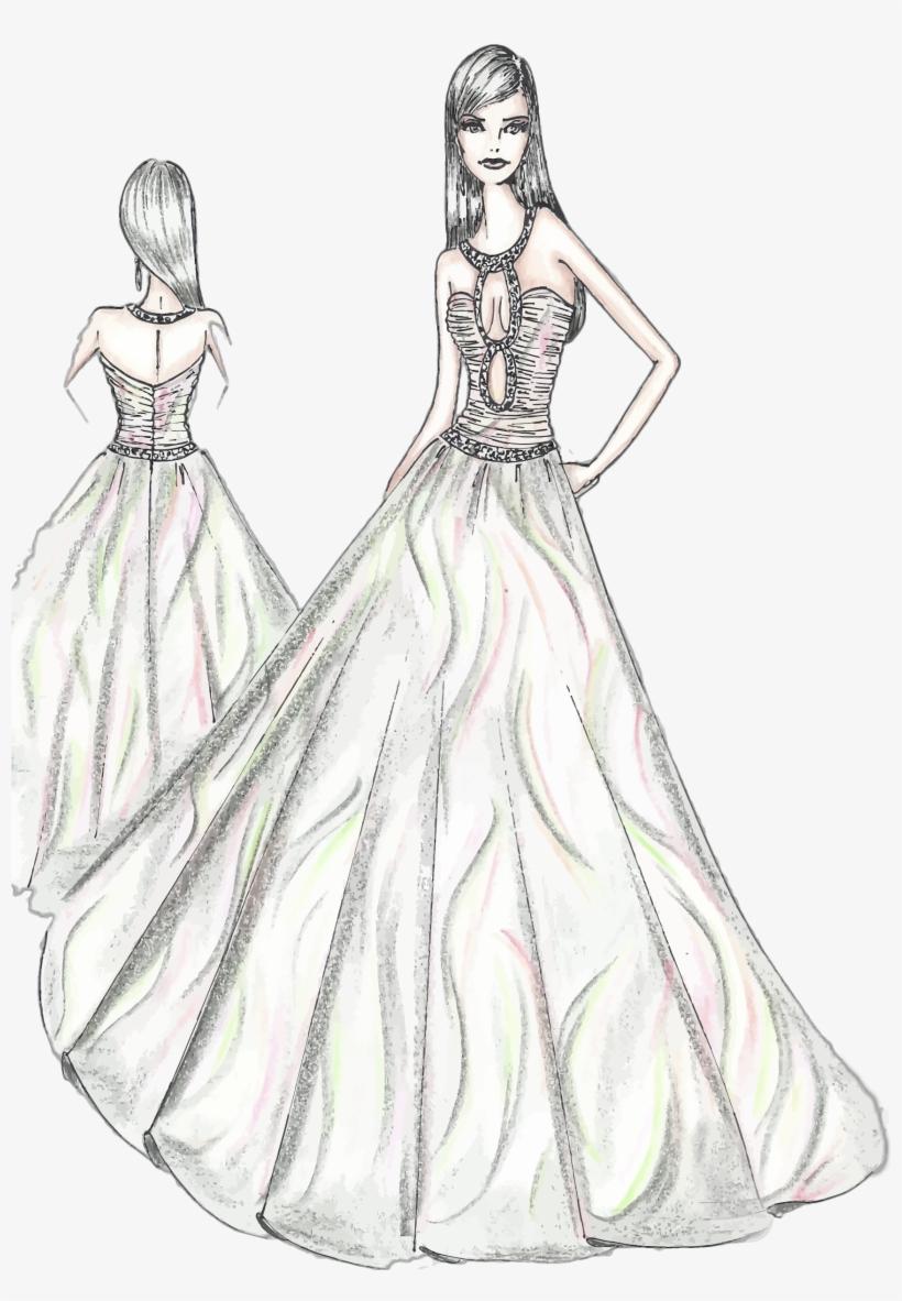 Designer Drawing Women S Clothing Fashion Design Sketches Pdf Png Image Transparent Png Free Download On Seekpng