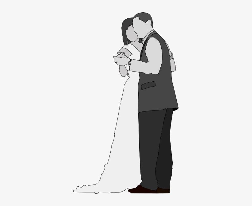 Gambar Hitam Putih Pernikahan Png Image Transparent Png Free