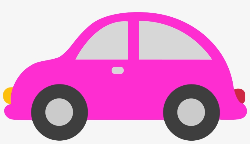 Pink Toy Car Clipart - Cars Clip Art PNG Image | Transparent PNG