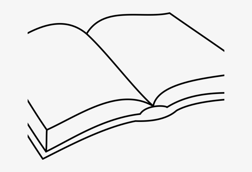 Drawn Bobook Opened Book - Simple Open Book Drawing PNG