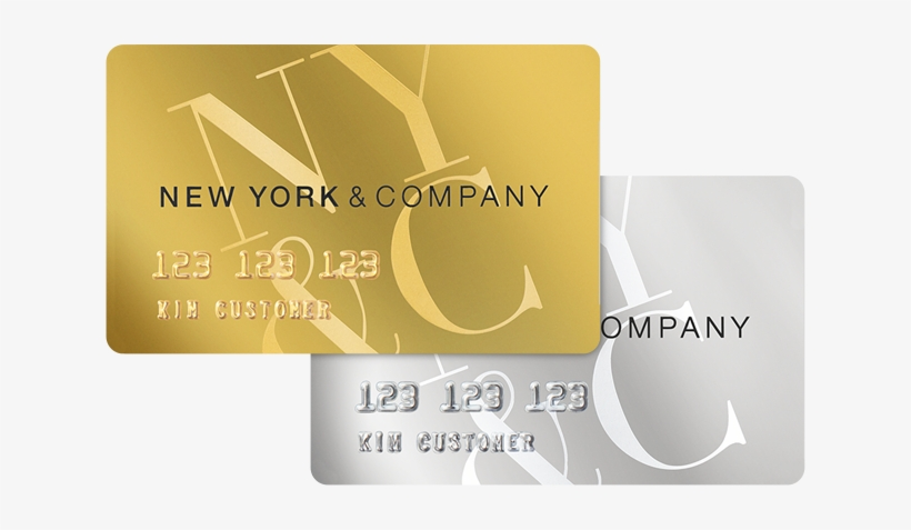 New York And Company Credit Card Payment >> New York And Company Credit Card Logo Credit Card Number In New