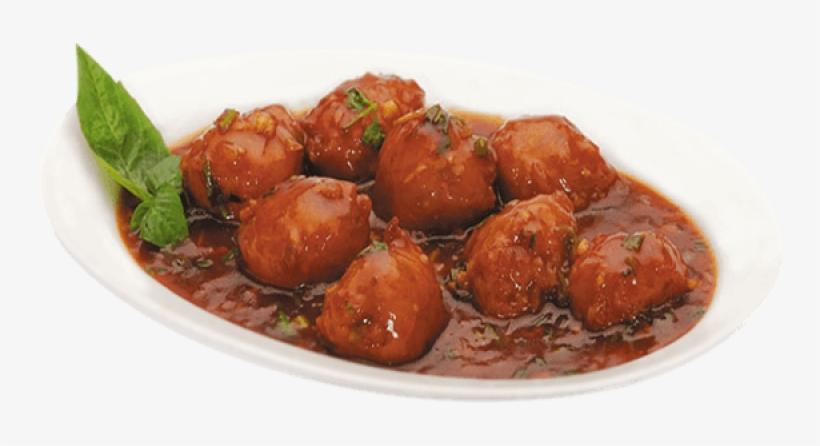 Veg Manchurian Balls - Manchurian Fried Rice Png@seekpng.com