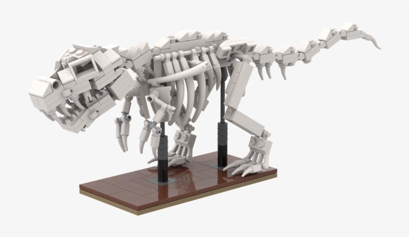 Skeleton T Rex Skeleton Png Image Transparent Png Free