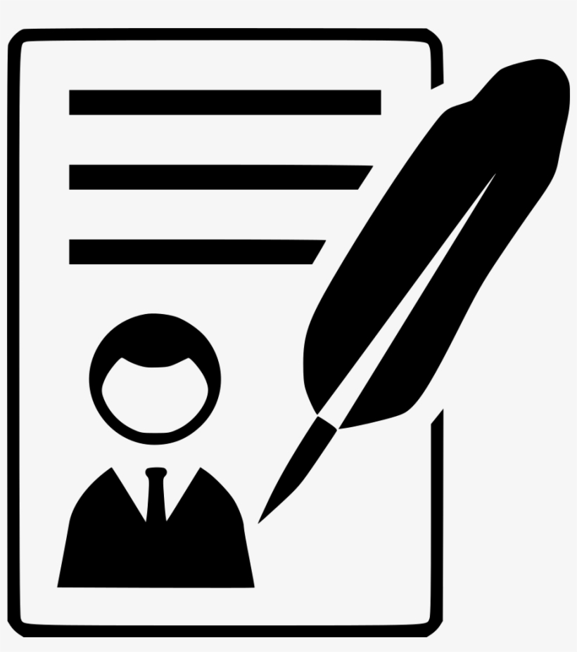 Resume Icons For Word Biography Icon Png Image Transparent Png