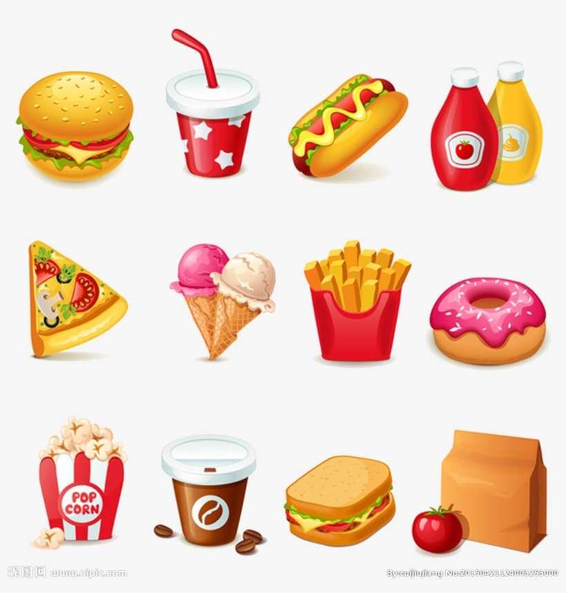 Hamburger Hot Dog Fast Food Junk Food Clip Art Imágenes De Comida