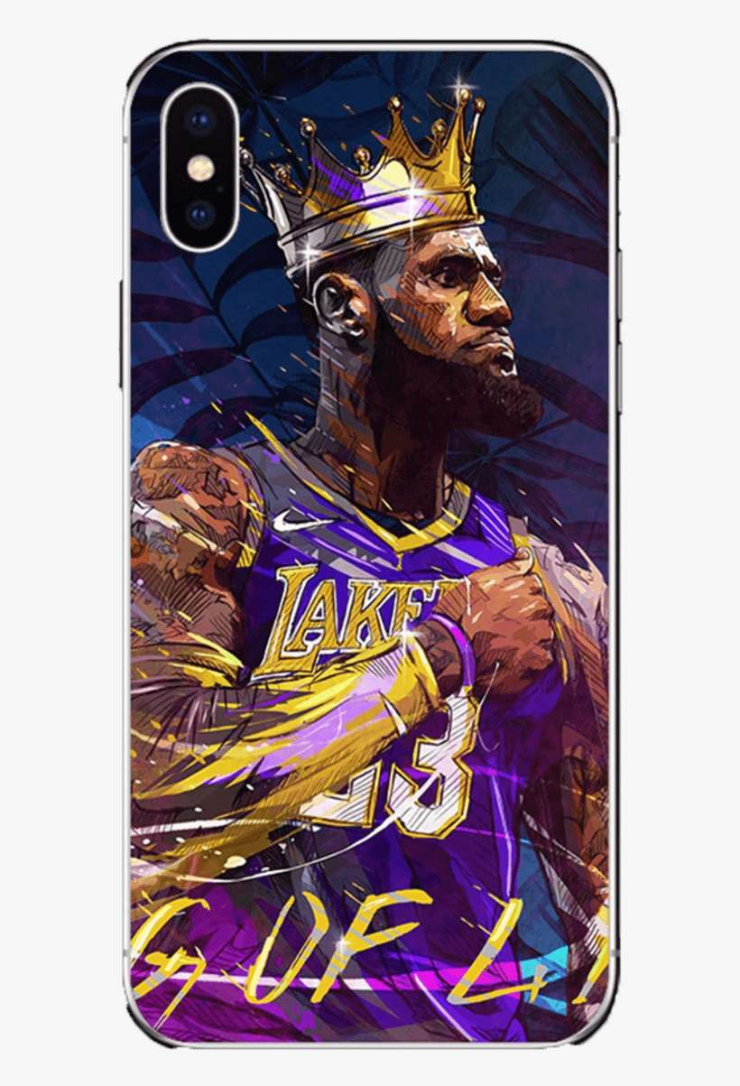 King Lebron James Phone Cases For Iphones Lebron James Wallpaper Hd Lakers Png Image Transparent Png Free Download On Seekpng