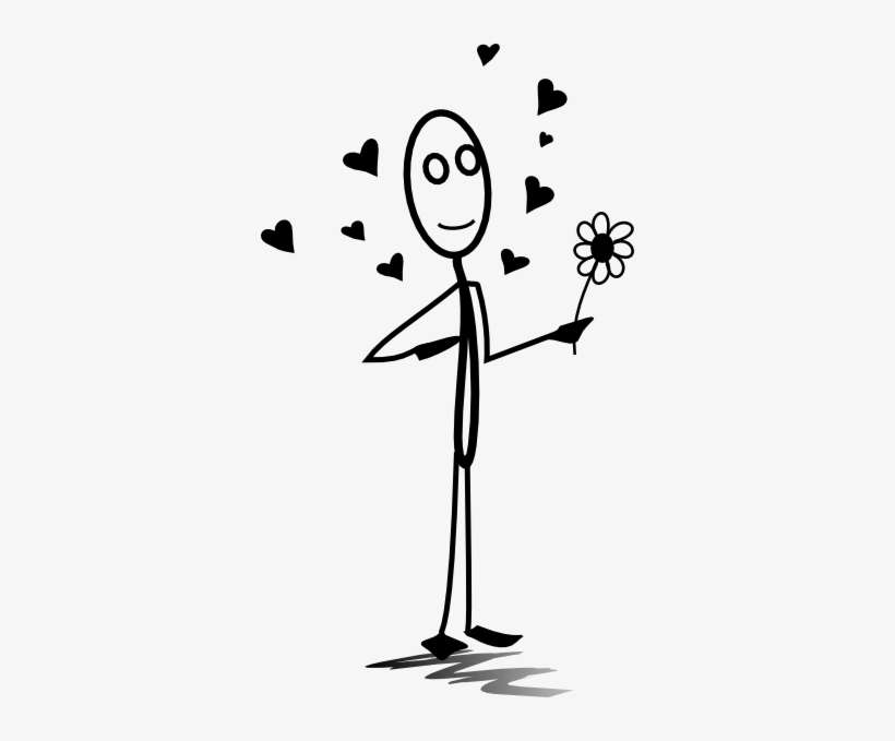 Stickman In Love Clip Art At Vector Clip Art Online Stick Man In Love Png Image Transparent Png Free Download On Seekpng