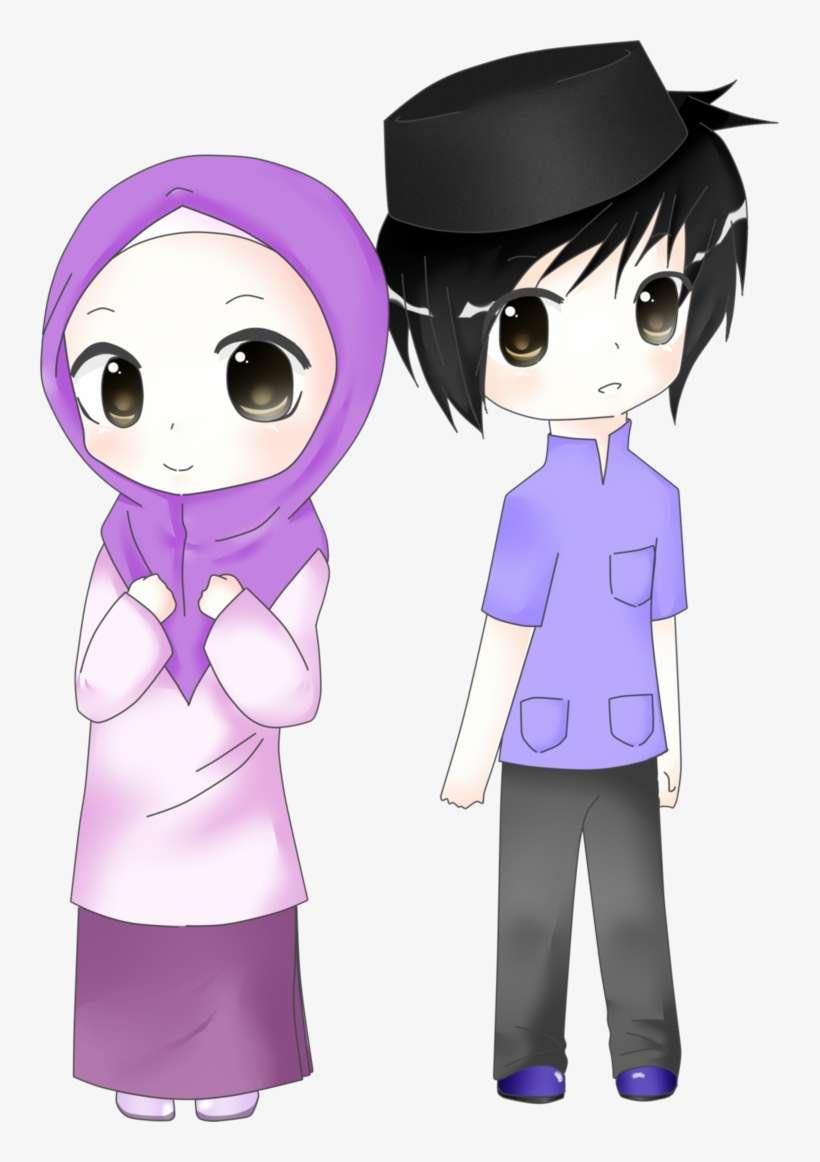 970 Gambar Kartun Muslim Dan Muslimat Gratis Terbaru