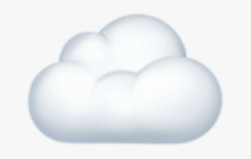 Emoji Iphone Cloud Cloudemoji Iphoneemoji Png Iphone