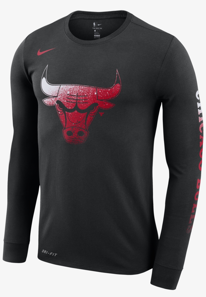 c2759bcf8 Nike Nba Chicago Bulls Logo Dry Tee - Orlando Magic Nike Shirt PNG ...
