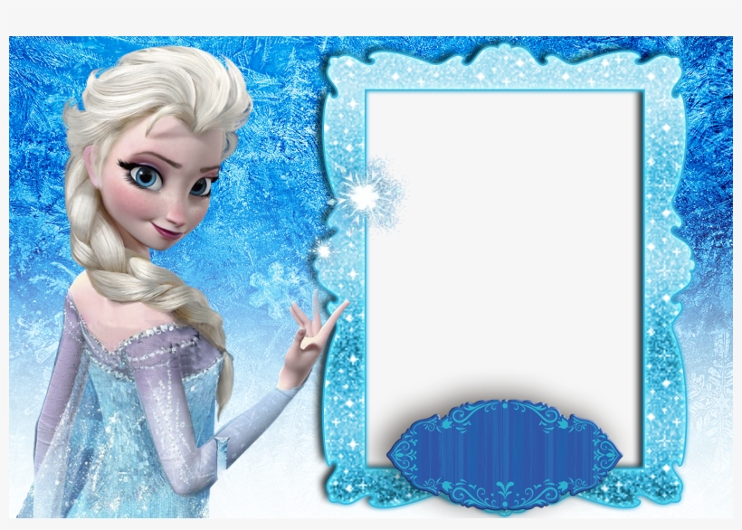 graphic relating to Printable Frozen Birthday Card identify Molduras Frozen - Printable Frozen Themed Birthday