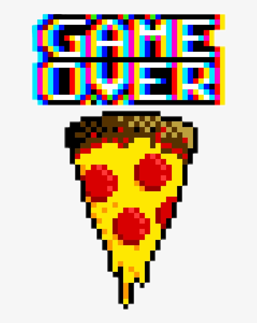 Dessin Pixel Art Pizza