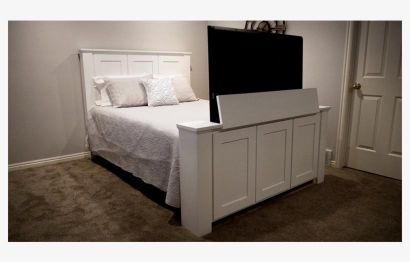 Tv Lift Bed Frame Png Image