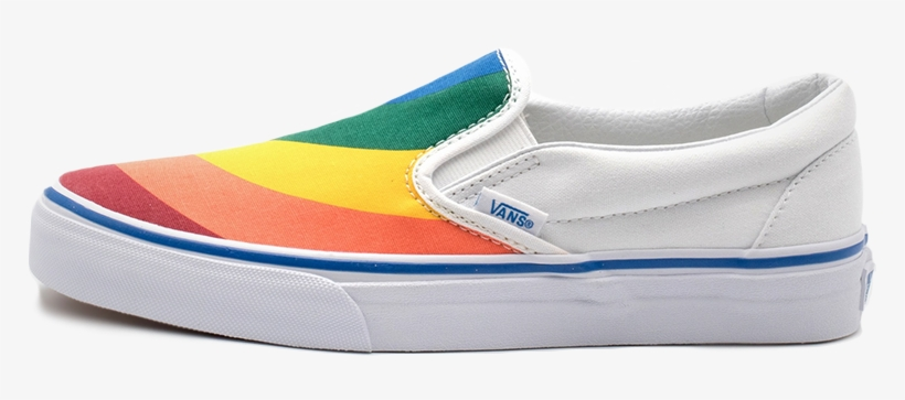 Sale A715b Vans Classic Slip On Multi Color White D05b9 ...