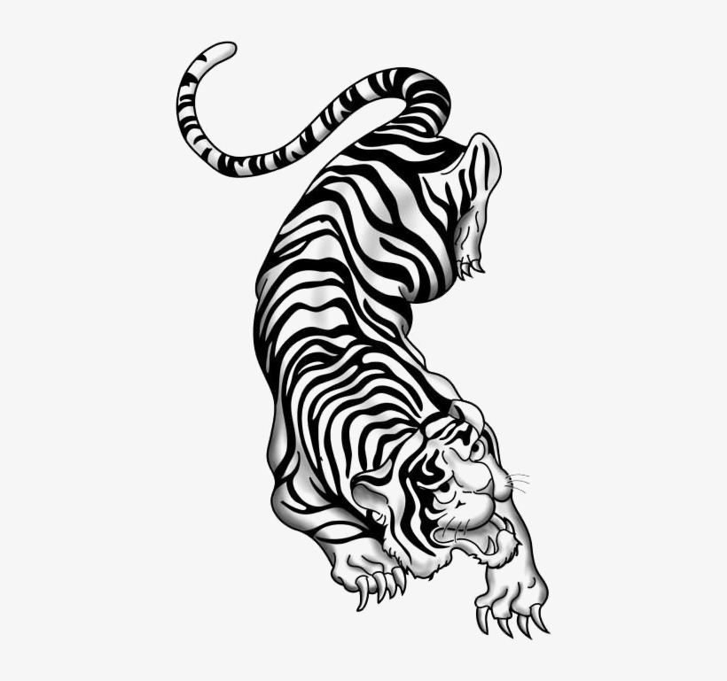 Tiger Tattoos Png Picture Traditional Chinese Tattoo Tiger Png