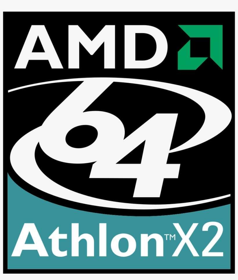 Only Amd Hackintosh Keddrcom - Amd Athlon 64 X2 Logo PNG