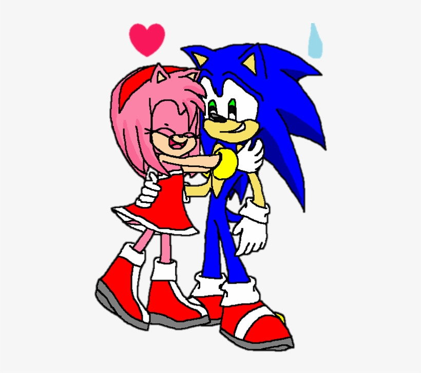 Amy Rose Images Sonic The Hedgehog And Amy Rose 2016 Cartoon Png Image Transparent Png Free Download On Seekpng