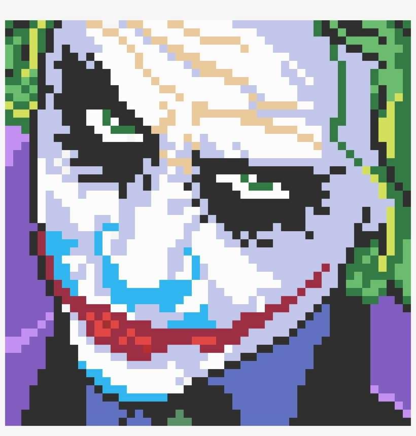 Joker Persona 5 Pixel Art Minecraft Geeksn0w