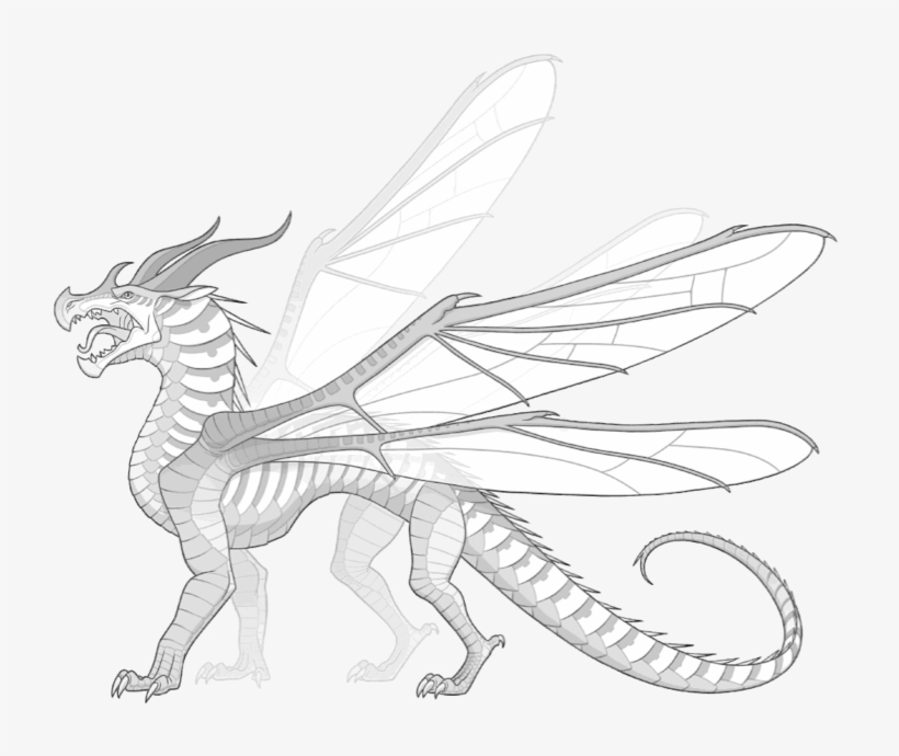 Wings Of Fire Seawing Coloring Pages These Are Hivewings ...
