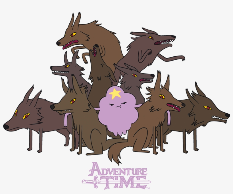 Adventure Time Lsp Wolves Women S Adventure Time Wolves Png Image Transparent Png Free Download On Seekpng