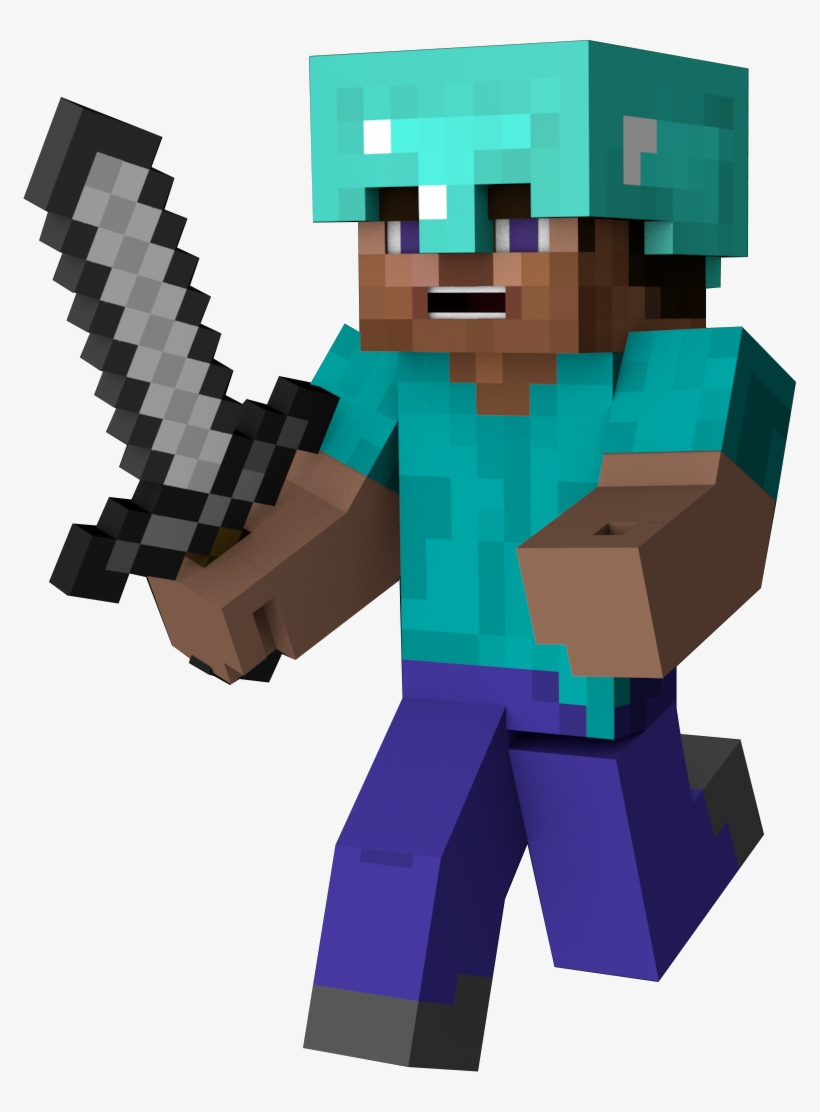 Minecraft Character Steve Png Png Image Transparent Png Free